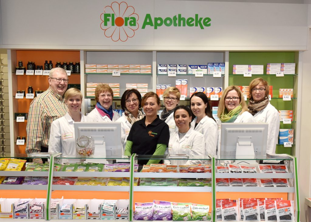 Unser Flora Team in Eickel